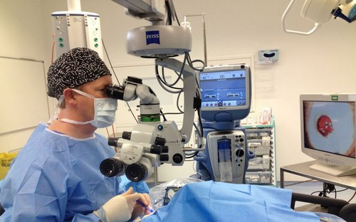 بیهوشی در جراحی چشم