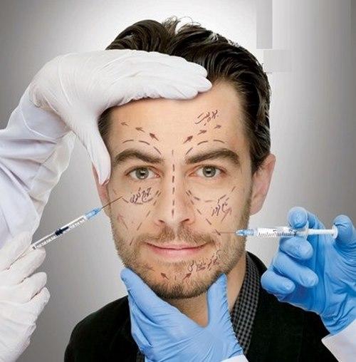 جراحی صورت مردان