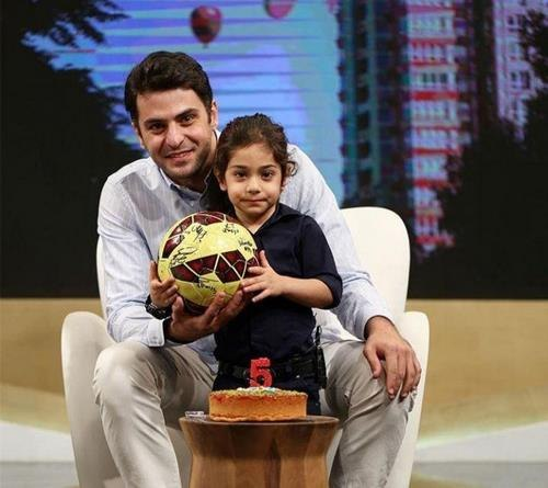 ارات حسینی نابغه فوتبال