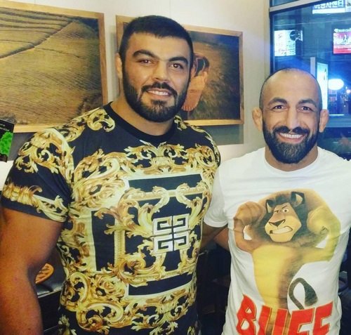 رضا مددی و امیر علی اکبری